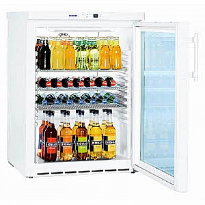 LIEBHERR FKUv1613 Glass Door Under Counter Fridge