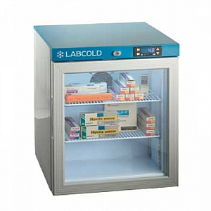 Labcold RLDG0110A 36L Tabletop Glass Door Pharmacy and Vaccine Refrigerator