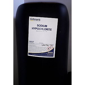 Sodium Hyperchlorite 25L Commercial 037