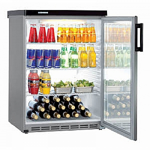 Liebherr FKVesf1803 Table height glass door fridge